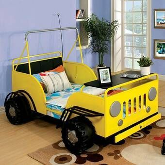 Luxury Kids Bedroom Design Ideas With Car Shaped Beds01