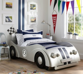 Luxury Kids Bedroom Design Ideas With Car Shaped Beds02