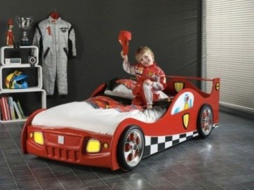 Luxury Kids Bedroom Design Ideas With Car Shaped Beds12