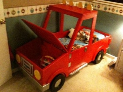 Luxury Kids Bedroom Design Ideas With Car Shaped Beds17