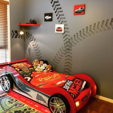 Luxury Kids Bedroom Design Ideas With Car Shaped Beds27
