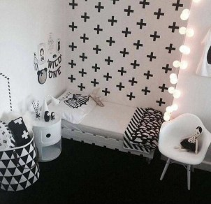 Marvelous Black And White Kids Room Design Ideas To Try This Month05