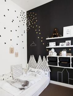 Marvelous Black And White Kids Room Design Ideas To Try This Month08