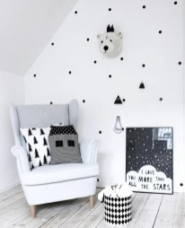 Marvelous Black And White Kids Room Design Ideas To Try This Month15