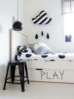 Marvelous Black And White Kids Room Design Ideas To Try This Month22