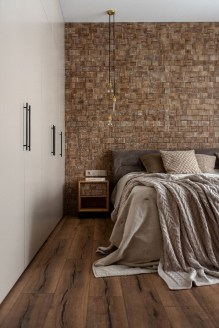 Newest Bedroom Design Ideas That Featuring With Wooden Panel Wall02