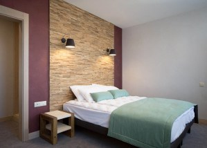 Newest Bedroom Design Ideas That Featuring With Wooden Panel Wall22