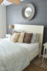 Newest Bedroom Design Ideas That Featuring With Wooden Panel Wall23