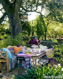 Newest Outdoor Bohemian Dining Room Design Ideas To Try Right Now13