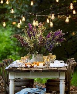 Newest Outdoor Bohemian Dining Room Design Ideas To Try Right Now21