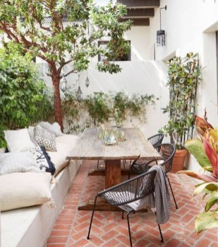 Newest Outdoor Bohemian Dining Room Design Ideas To Try Right Now26