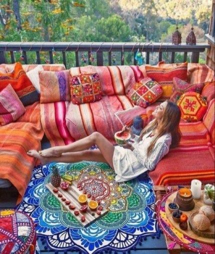 Newest Outdoor Bohemian Dining Room Design Ideas To Try Right Now28