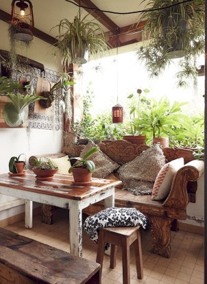 Newest Outdoor Bohemian Dining Room Design Ideas To Try Right Now29