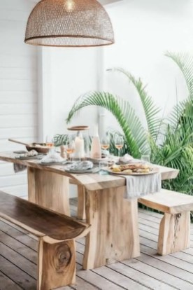 Newest Outdoor Bohemian Dining Room Design Ideas To Try Right Now32