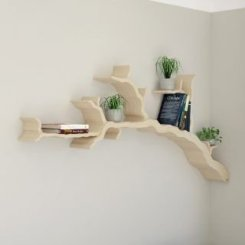 Trendy Plywood Bookshelf Design Ideas With Floating Effects To Try Asap08