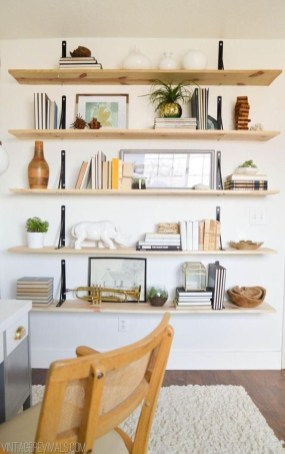 Trendy Plywood Bookshelf Design Ideas With Floating Effects To Try Asap11