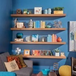 Trendy Plywood Bookshelf Design Ideas With Floating Effects To Try Asap18