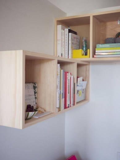 Trendy Plywood Bookshelf Design Ideas With Floating Effects To Try Asap24