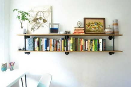 Trendy Plywood Bookshelf Design Ideas With Floating Effects To Try Asap25