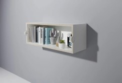 Trendy Plywood Bookshelf Design Ideas With Floating Effects To Try Asap27