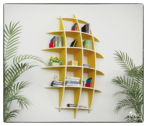 Trendy Plywood Bookshelf Design Ideas With Floating Effects To Try Asap29