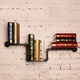 Unusual Industrial Pipe Rack Storage Design Ideas To Try Right Now18