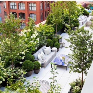 Adorable Rooftop Gardens Design Ideas That Looks Awesome16