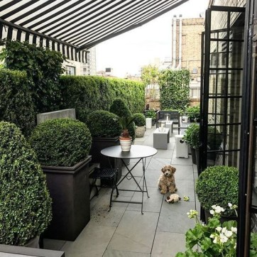 Adorable Rooftop Gardens Design Ideas That Looks Awesome18