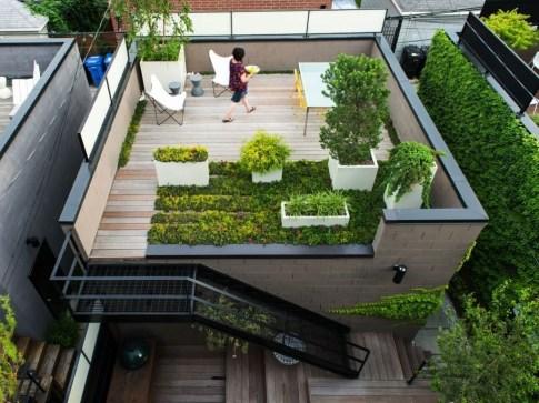 Adorable Rooftop Gardens Design Ideas That Looks Awesome24