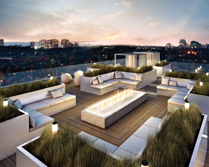 Adorable Rooftop Gardens Design Ideas That Looks Awesome28