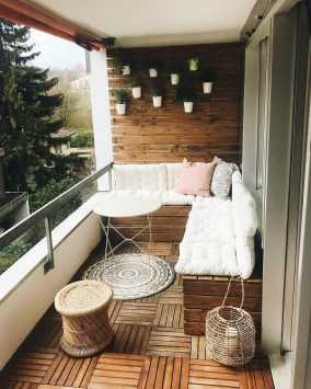 Affordable Small Balcony Design Ideas On A Budget18