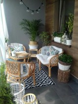 Affordable Small Balcony Design Ideas On A Budget23