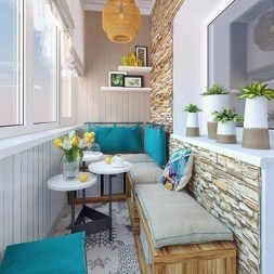 Affordable Small Balcony Design Ideas On A Budget30