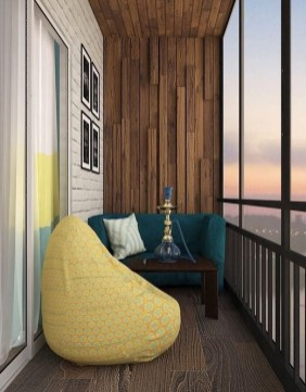 Affordable Small Balcony Design Ideas On A Budget40