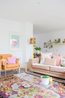 Best Pastel Living Rooms Design Ideas With Small Space To Have08