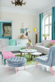 Best Pastel Living Rooms Design Ideas With Small Space To Have10