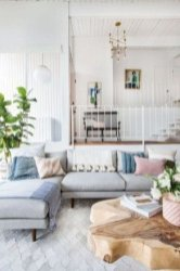 Best Pastel Living Rooms Design Ideas With Small Space To Have27