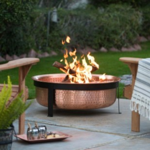 Best Patio Deck Design Ideas With Firepit To Make The Atmosphere Warmer02