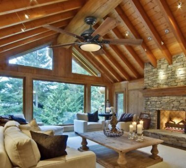 Brilliant Living Room Wood Ceiling Design Ideas That You Should Try29