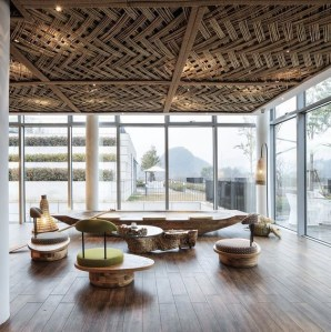 Brilliant Living Room Wood Ceiling Design Ideas That You Should Try35