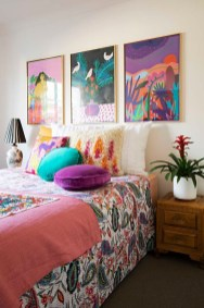 Captivating Colorful Bedroom Design Ideas That Looks So Lovely12