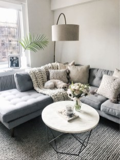 Charming Living Room Decoration Ideas With Minimalist Sofa To Try Asap26
