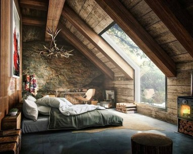 Fantastic Bedrooms Design Ideas With A View Of Nature29