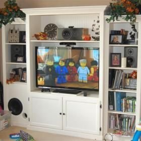 Incredible Diy Entertainment Center Design Ideas That Look More Comfort23