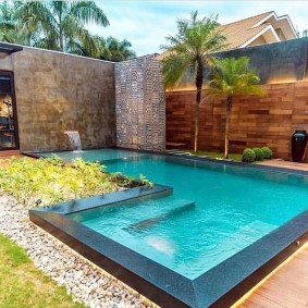 Inspiring Small Backyard Pool Design Ideas For Your Relaxing Place32