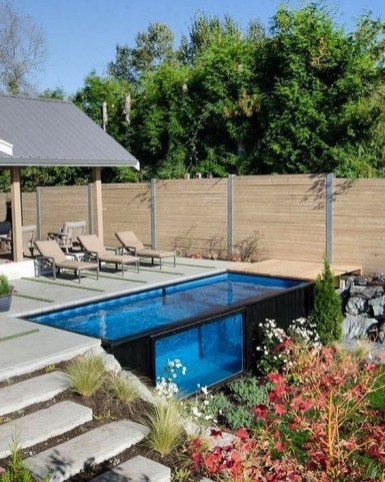 Inspiring Small Backyard Pool Design Ideas For Your Relaxing Place35