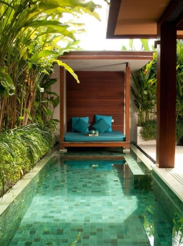 Inspiring Small Backyard Pool Design Ideas For Your Relaxing Place37