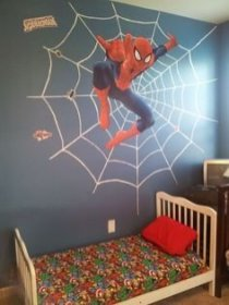 Latest Kids Bedroom Design Ideas With Spiderman Themes01