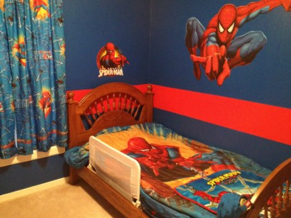 Latest Kids Bedroom Design Ideas With Spiderman Themes05