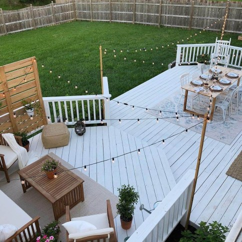Lovely Deck Lighting Design Ideas For Cozy And Romantic Nuances At Night23